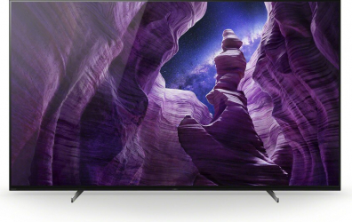 Televizor OLED Sony KD-55A89 Bravia Smart TV 4K UHD Android TV HDR 139 cm negru