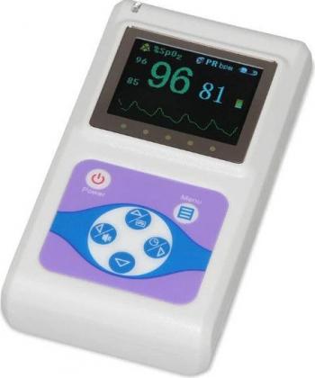 Pulsoximetru profesional Contec CMS60D masoara saturatia de oxigen si rata pulsului