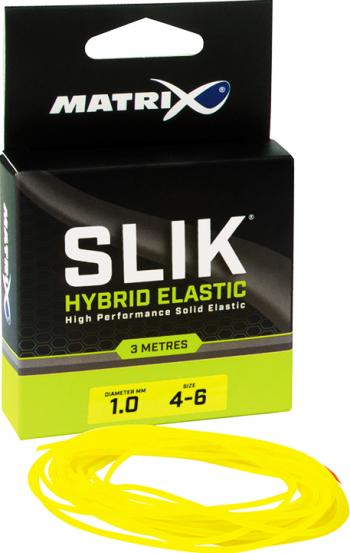 Fir elastic Slik Elastics sz 4-6 1.0mm Yellow