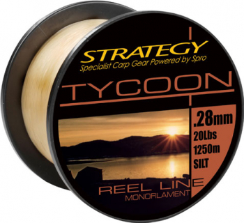 Monofilament Strategy TYCOON Silt 1250m 0 35
