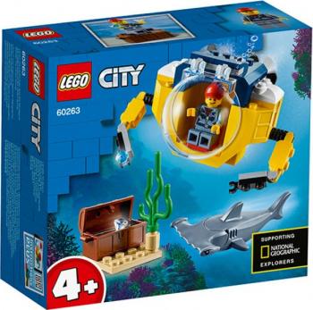 LEGO City Minisubmarin oceanic No. 60263 Lego