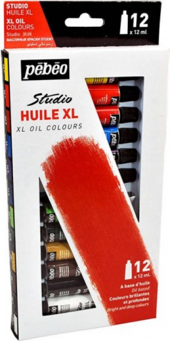 Set 12 culori de ulei fine XL Oil Studio Pebeo 668600 Hobby uri creative