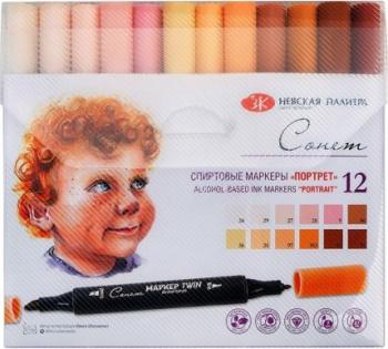 Set 12 markere Portrait Sonnet 211421450 Hobby uri creative