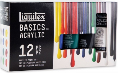 Set 12 x 22ml culori acrilice Liquitex Basics Hobby uri creative