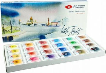 Set 24 acuarele rusesti extra-fine White Nights 19411586 Hobby uri creative