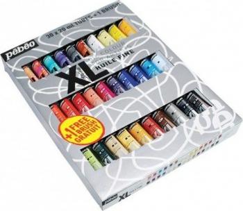 Set 30 culori de ulei XL Oil Studio + 1 pensula Pebeo 920231 Hobby uri creative