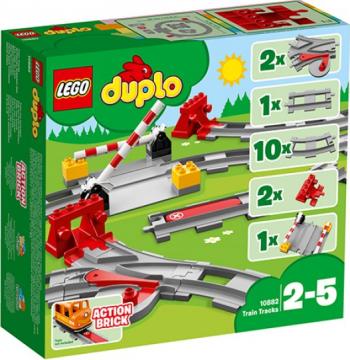 LEGO DUPLO Sine de cale ferata No. 10882 Lego