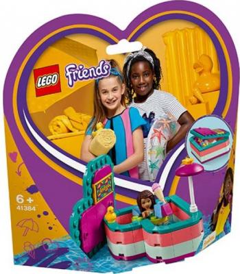 LEGO Friends Cutia de vara in forma de inima a Andreei No. 41384 Lego