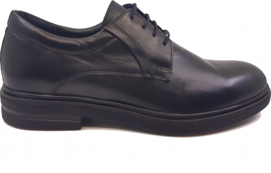 Pantofi eleganti negru box din piele naturala-44