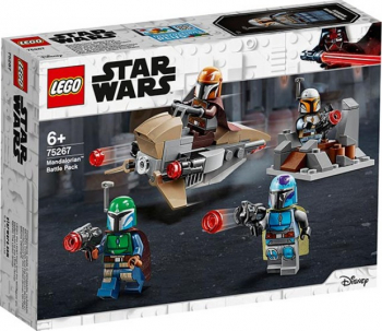 LEGO Star Wars Pachet de lupta Mandalorian No. 75267 Lego