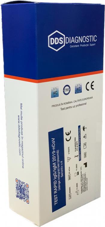 Kit 2 Teste Rapide Covid-19 IgG / IgM Anticorpi senzitiv Sange - Test rapid Covid 19