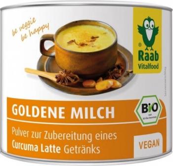 Bautura instant cu turmeric Golden Milk bio 70g