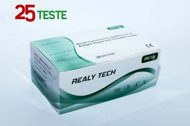 Test rapid COVID 19 Antigen Autorizate ANMR set 25 buc Teste rapide covid anticorpi antigen