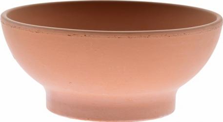 Bol lut ceramica teracota 22 cm antichizat