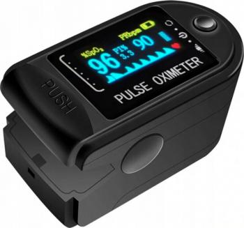 Pulsoximetru CMS 50D negru Powermat
