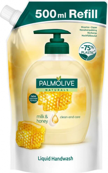Rezerva Sapun Lichid Palmolive Naturals Milk and Honey 500 ml Lapte si Miere