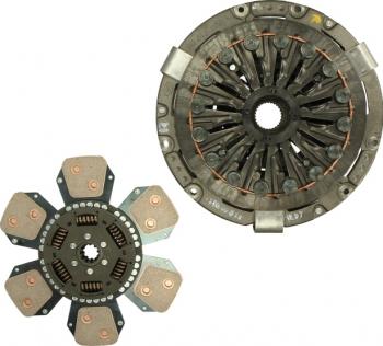 Set ambreiaj fara rulment 330mm JOHN DEERE 1000 1641/2040S/2140/2140DT/2141/2355N/2541/2555/2650/2650F/2750 2WD/2750