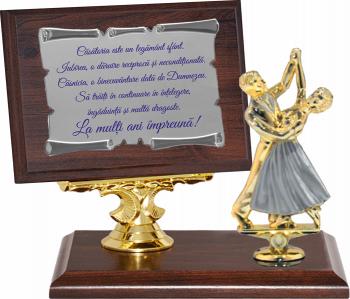 Trofeu Cadou pentru Nunta de Argint Cupe, trofee si medalii