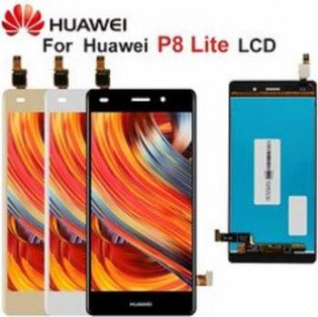 Display cu touchscreen Huawei P8 Lite ALE-L21 2015 Original Negru Piese si componente telefoane