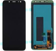 Display cu touchscreen Samsung SM-J600F Galaxy J6 2018 Original Negru Piese si componente telefoane