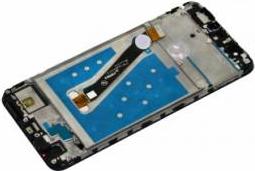 Display cu touchscreen si rama Huawei P Smart Original Auriu Piese si componente telefoane