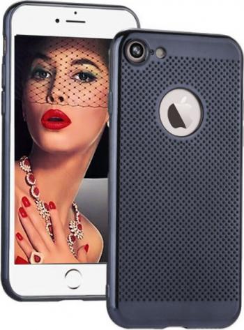 Husa telefon Aerisire Apple Iphone 7 ofera protectie 3in1 Ultrasubtire Silk Black Mirror