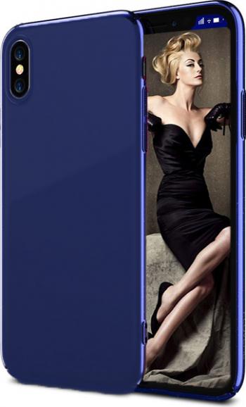 Husa telefon Apple Iphone XS ofera protectie Ultrasubtire Silk Blue
