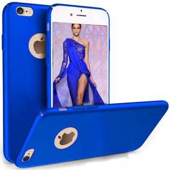Husa telefon Iphone 7 Plus ofera protectie Ultrasubtire - Silk Blue Matte