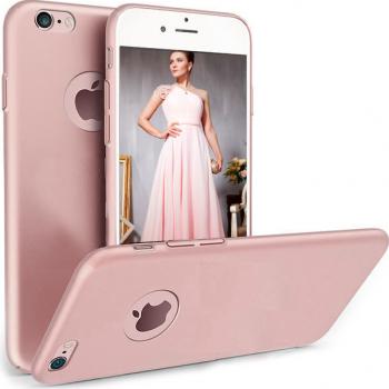 Husa telefon Iphone 7 Plus ofera protectie Ultrasubtire - Silk Rose Matte