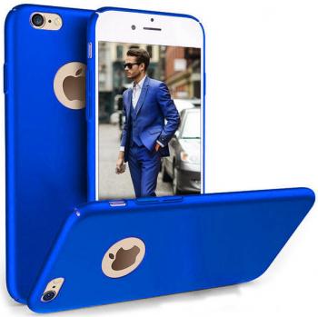 Husa telefon Iphone 8 ofera protectie Ultrasubtire - Silk Blue Matte