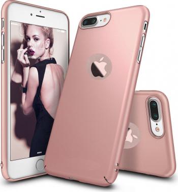 Husa telefon Iphone 8 ofera protectie Ultrasubtire - Silk Rose Matte