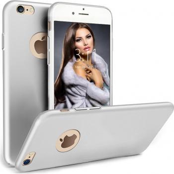 Husa telefon Iphone 8 ofera protectie Ultrasubtire -Silk Silver Matte