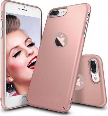 Husa telefon Iphone 7 ofera protectie Ultrasubtire - Silk Rose Matte