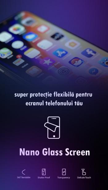 Folie protectie Nano-Glass pentru Allview X4 Soul Infinity N