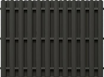 Panou gard sipca vertical bilateral 1800x2000 mm
