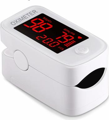 Pulsoximetru de deget FINGERTIP YM101 / Profesional / Rapid / Senzor de mare precizie / Avizat Medical
