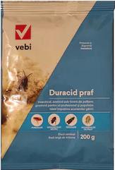 Insecticid acaricid impotriva paduchilor de gaina Duracid praf 200 g Articole antidaunatori gradina