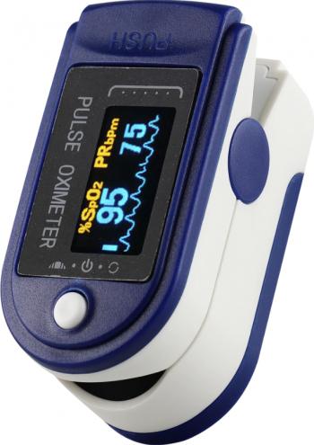 Pulsoximetru profesional medical ProfLine indica nivelul de saturatie a oxigenului din sange si pulsul