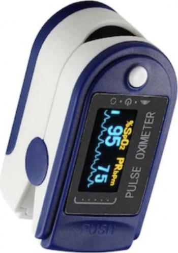 Pulsoximetru profesional medical ProfLine Special Edition Indica nivelul de saturatie a oxigenului din sange si pulsul