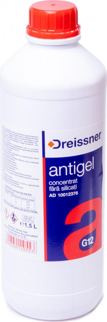 ANTIGEL ROSU G12 1.5L -DREISSNER Sistem racire