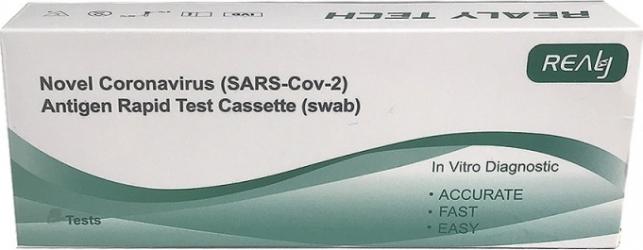Test rapid antigen COVID 19 Germania Autorizat ANMR /2 buc Teste rapide covid anticorpi antigen