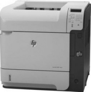 Imprimanta Refurbished HP LaserJet Enterprise 600 M 602 n 50ppm cartus incarcat 100