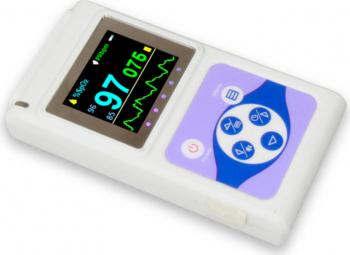 Pulsoximetru profesional pentru adulti copii si cu senzor pentru nou-nascuti Contec