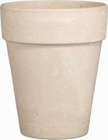 Ghiveci lut ceramica 21cm alb