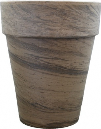 Ghiveci lut ceramica XL 21cm GRI