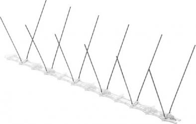 Modul Tepi Otel Inox Votton R 20 - 34 CM - Protectie Pasari de orice marime Articole antidaunatori gradina