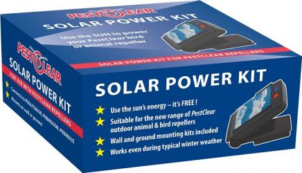 Panou Solar pentru Aparatele Sonice si Ultrasonice - Impotriva Pasarilor si Animalelor- SOLAR POWER KIT Articole antidaunatori gradina
