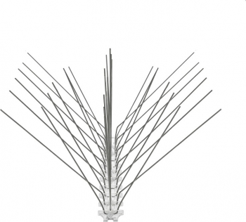 Tepi Otel Inox Banda 108 - 34 cm - Protectie Pasari de Orice Marime Articole antidaunatori gradina