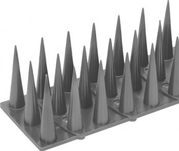 Tepi Plastic Banda 52 CM - PROTECTIE Pasari de orice marime si Pisici Gri Silver Articole antidaunatori gradina