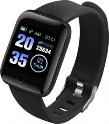 Ceas Smartwatch Techstar and reg Q9 Bluetooth 4.0 Waterproof IP65 IPS Touch HD Potrivit Fitness Android iOS N